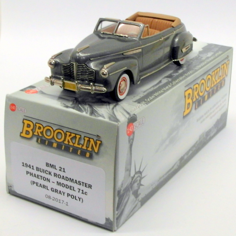 Brooklin Models 1 43 Scale Model Car Bml21 1941 Buick Roadmaster
