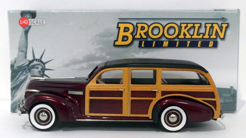 Brooklin 143 Scale Bml10 1940 Buick Super Estate Wagon M 59 Dk