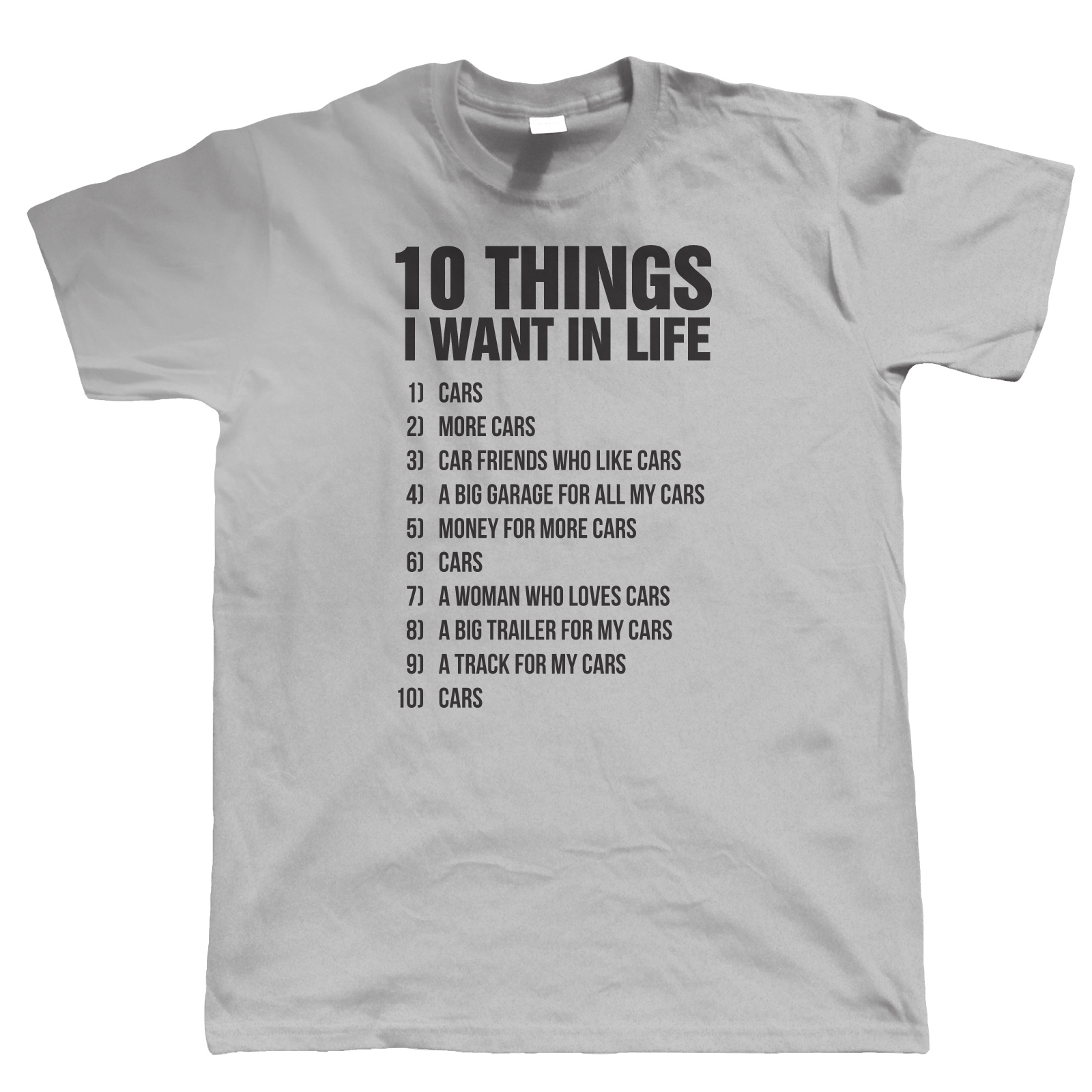 10 Things Mens Funny Car T Shirt Gift For Him Dad Classic Car Ebay