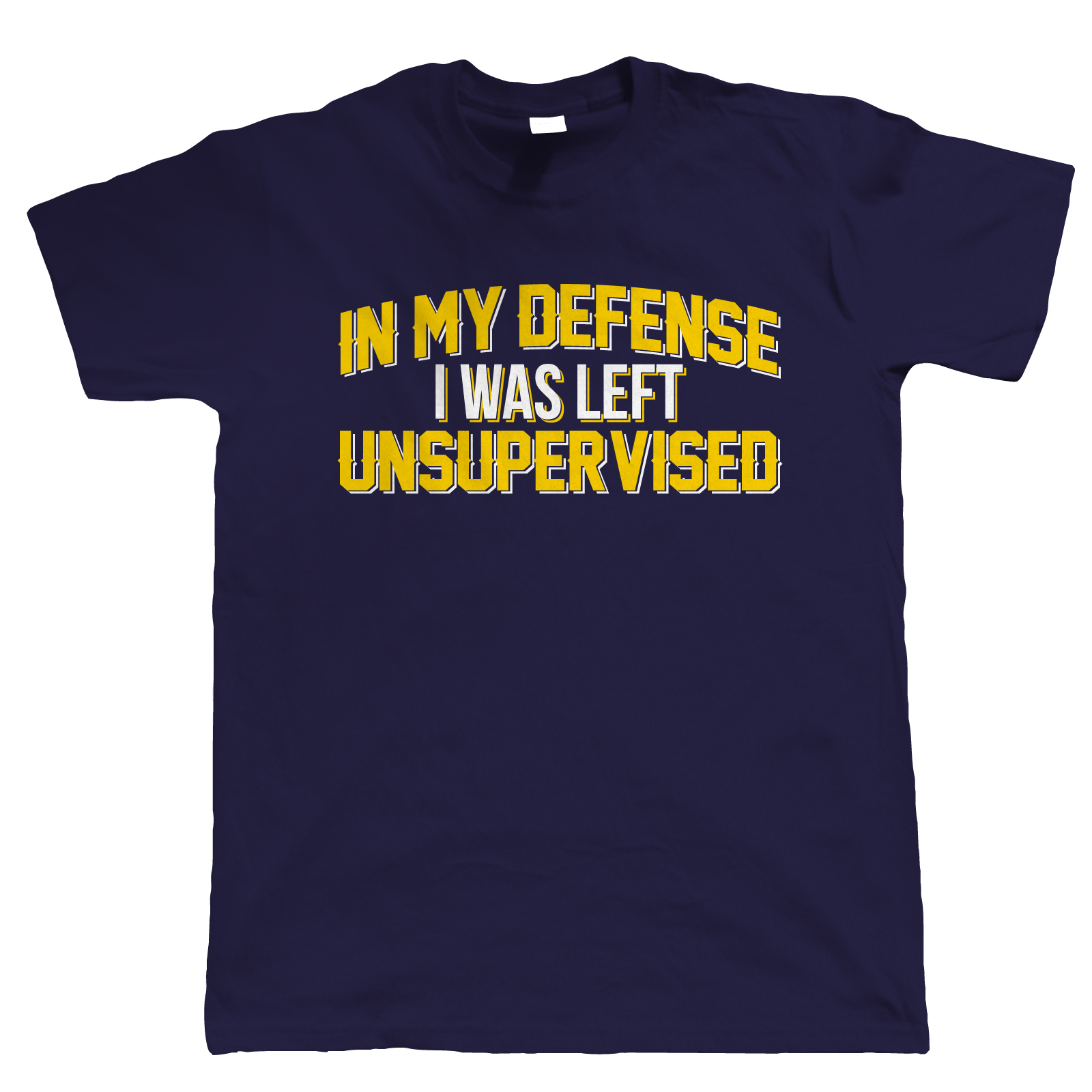 In-My-Defense-Mens-Funny-T-Shirt-Unsupervised-Mistake-Clumsy-Gift-Him-Dad-Day thumbnail 10