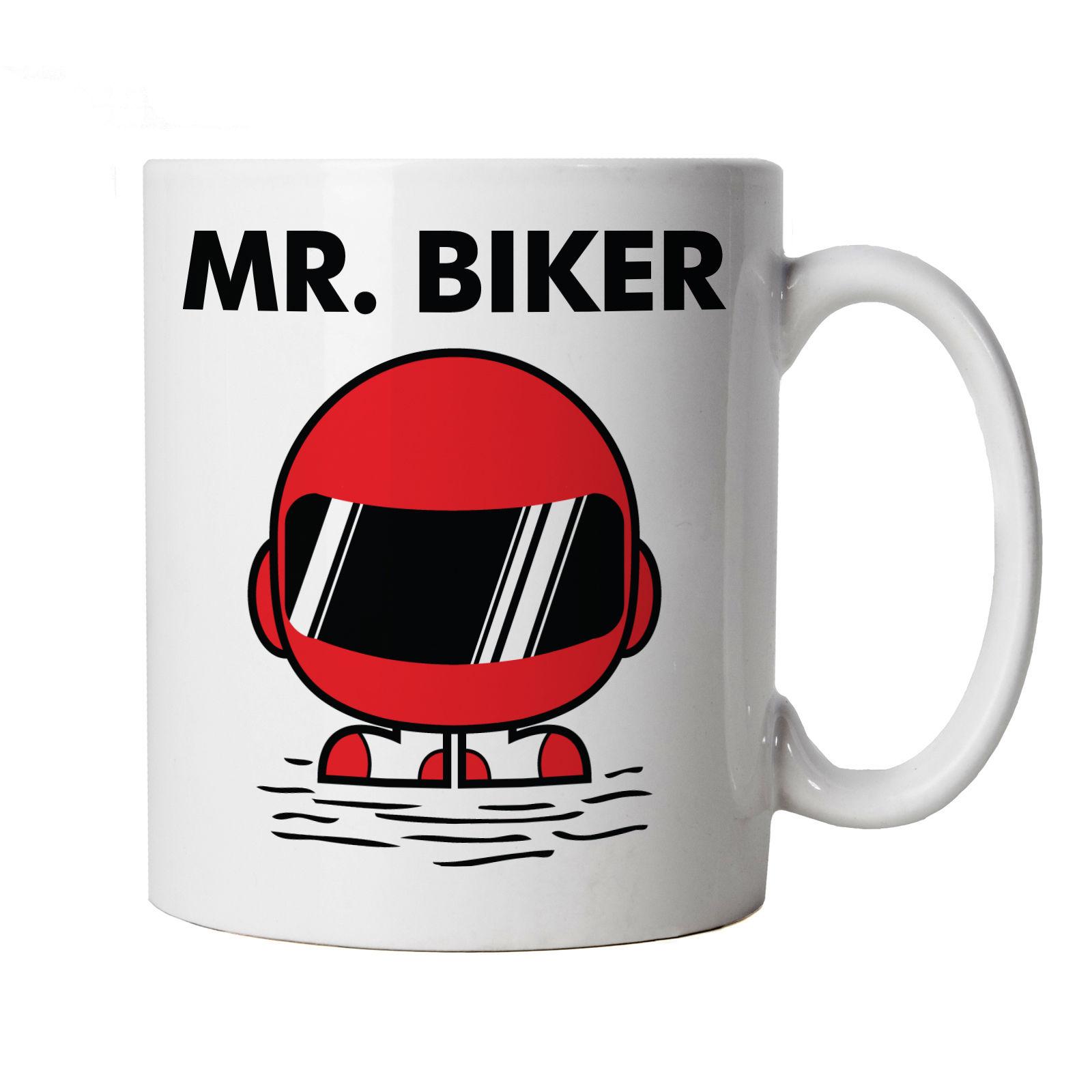 Mr Biker Mens Funny Biker Mug - Superbike Novelty Christmas Gift ...