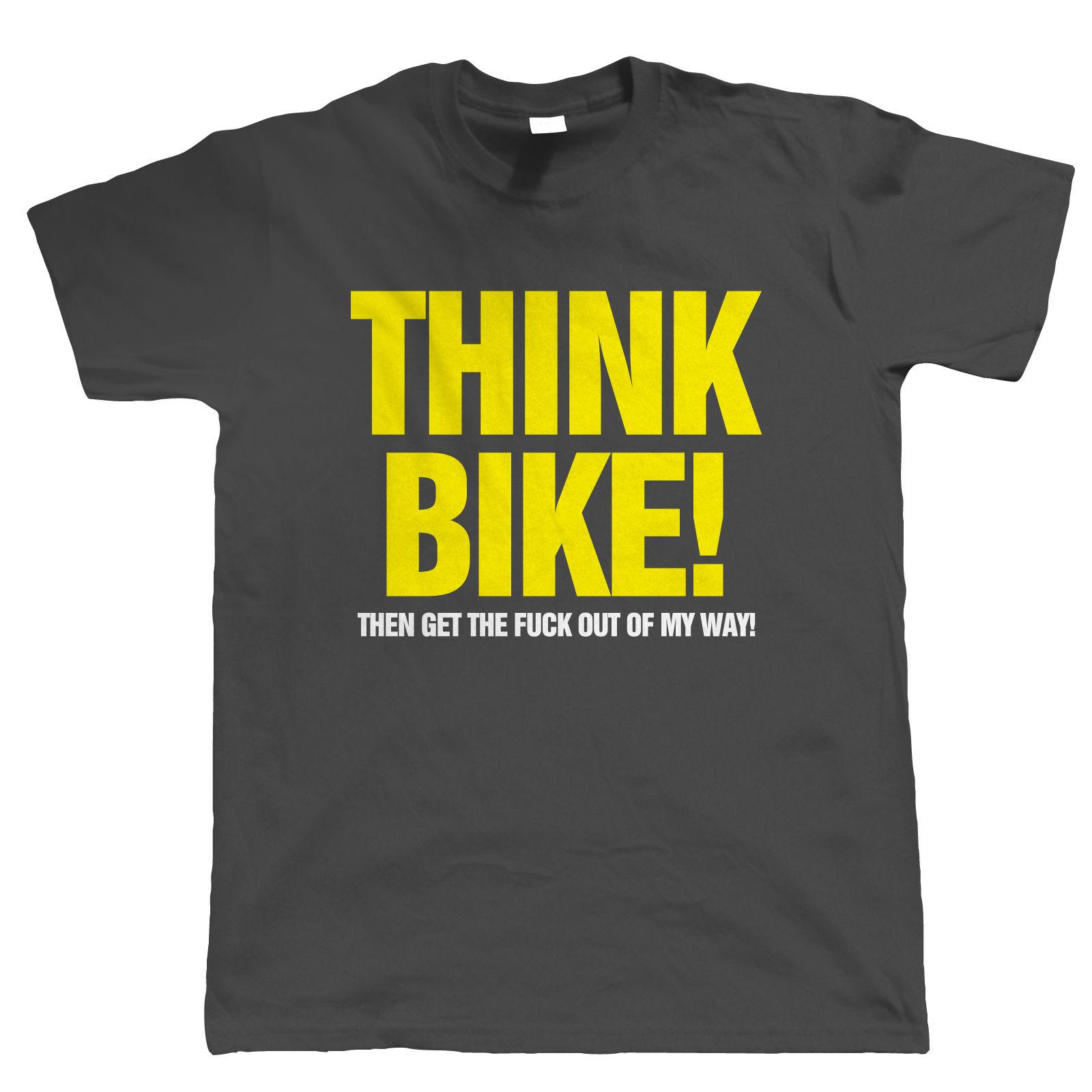 Think-Bike-Mens-Funny-Biker-T-Shirt-Superbike-Gift-for-Him-Dad-Grandad