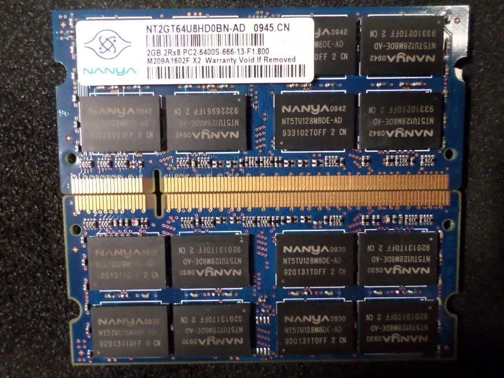 Nanya-4GB-2x2GB-SODIMM-DDR2-PC2-6400-800MHz-Laptop-RAM