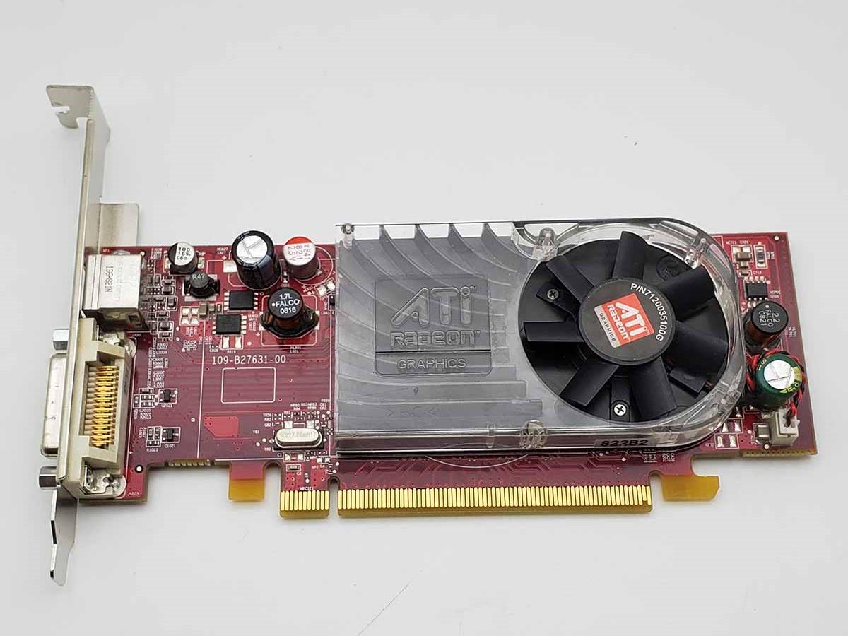 Dell FM351 ATI Radeon HD 2400 XT 256MB ATI-102-B27602 DVI Low Profile Video Card