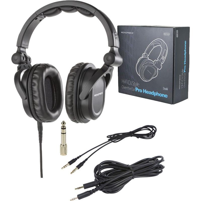 baebf548fc9 Description. MonoPrice MEP-865 Headphones - These hi-fi over-the-ear ...