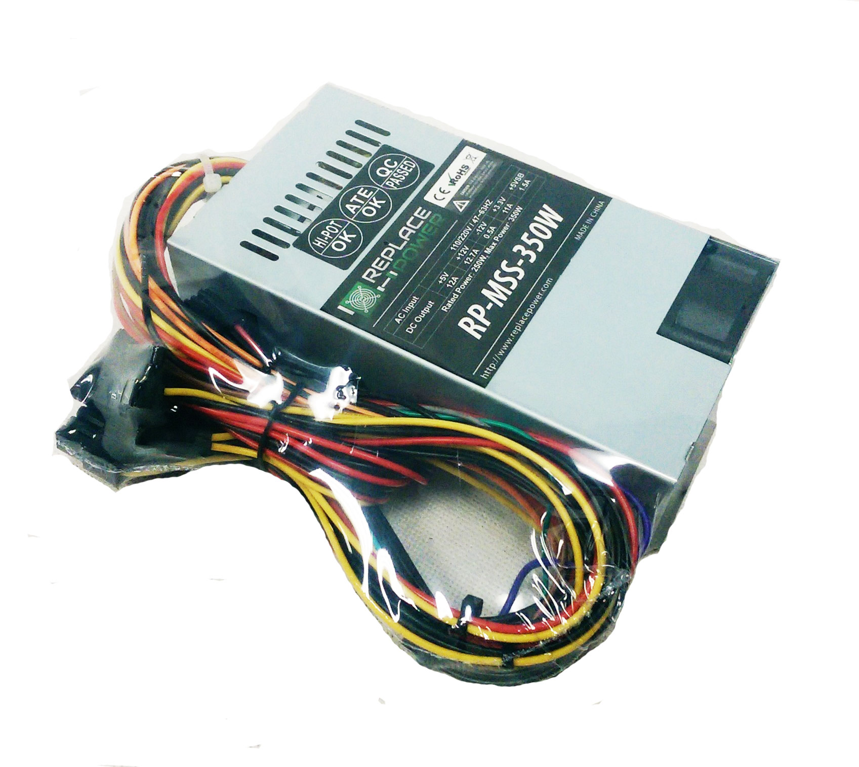 Enhance ENP-2224B ENP-2224B/_2G 350W Power Supply Replace//Upgrade TC35.2
