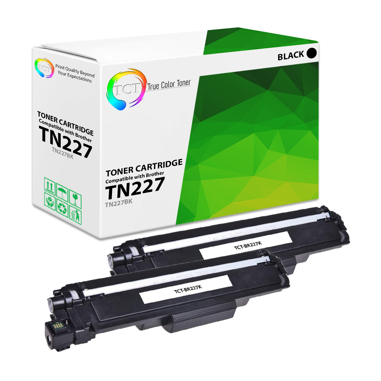 US 5 PK TN223 BLACK /& COLORS Toner With Chip for Brother MFC-L3710CW HL-L3210CW