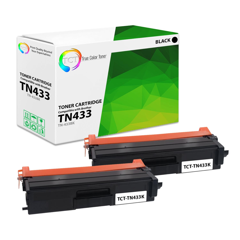 4x TN433 High Yield Toner for Brother HL-L8360CDW L8260CDW MFC-L8610CDW L8900CDW