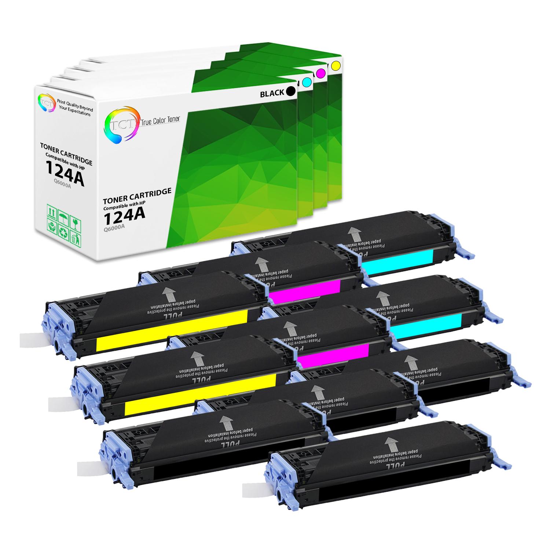 2 Pk HP 1600 2600 TONER SET Q6000A Q6001A Q6002A Q6003A