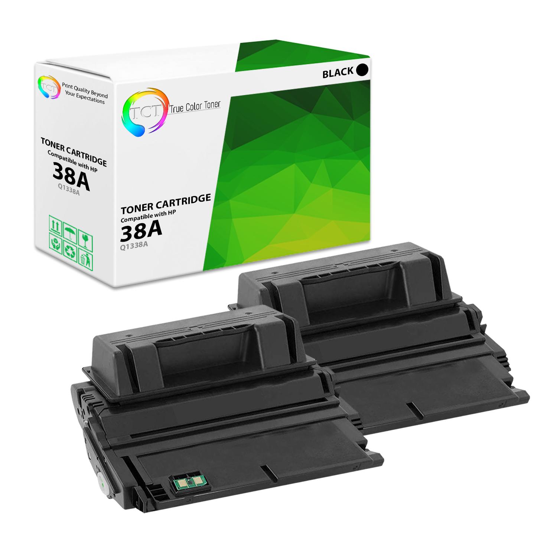 TCT Black Q1338A 38A Toner Cartridge HP LaserJet 4200 4200m 4200dtn printers