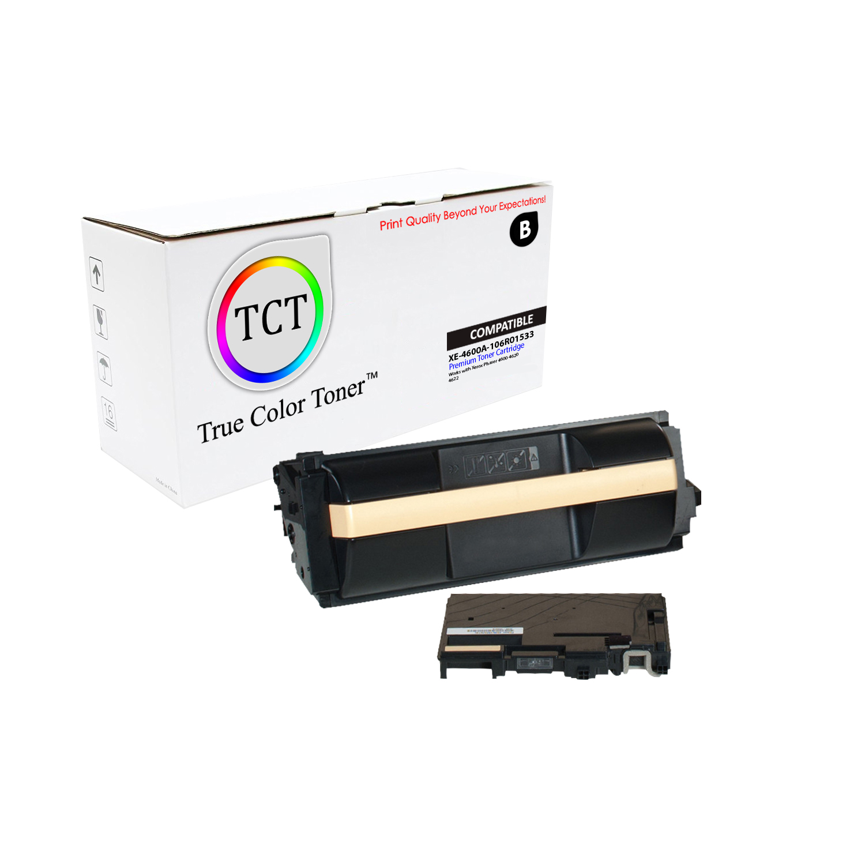 2PK Xerox 106R01535 Black High Yield Replacement Cartridge for Xerox Phaser 4600