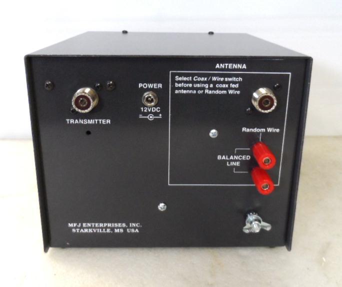MFJ-974B 3 5 TO 54MHz Balanced Balance Line 300W Antenna Tuner