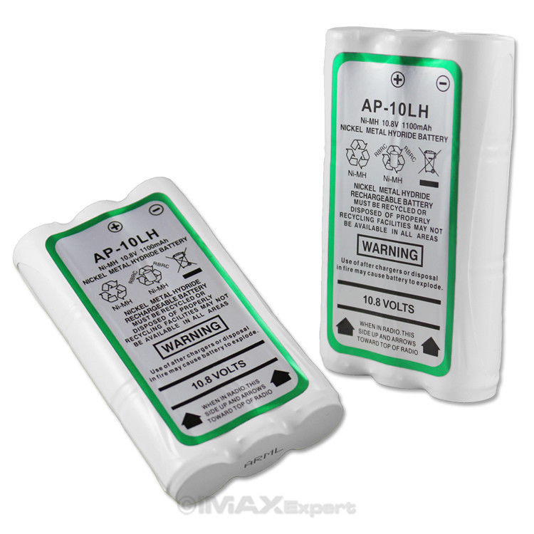 1100mAh Ni-Mh 10.8v HNN9027A Battery for MOTOROLA High Power HT10 Two-Way Radio