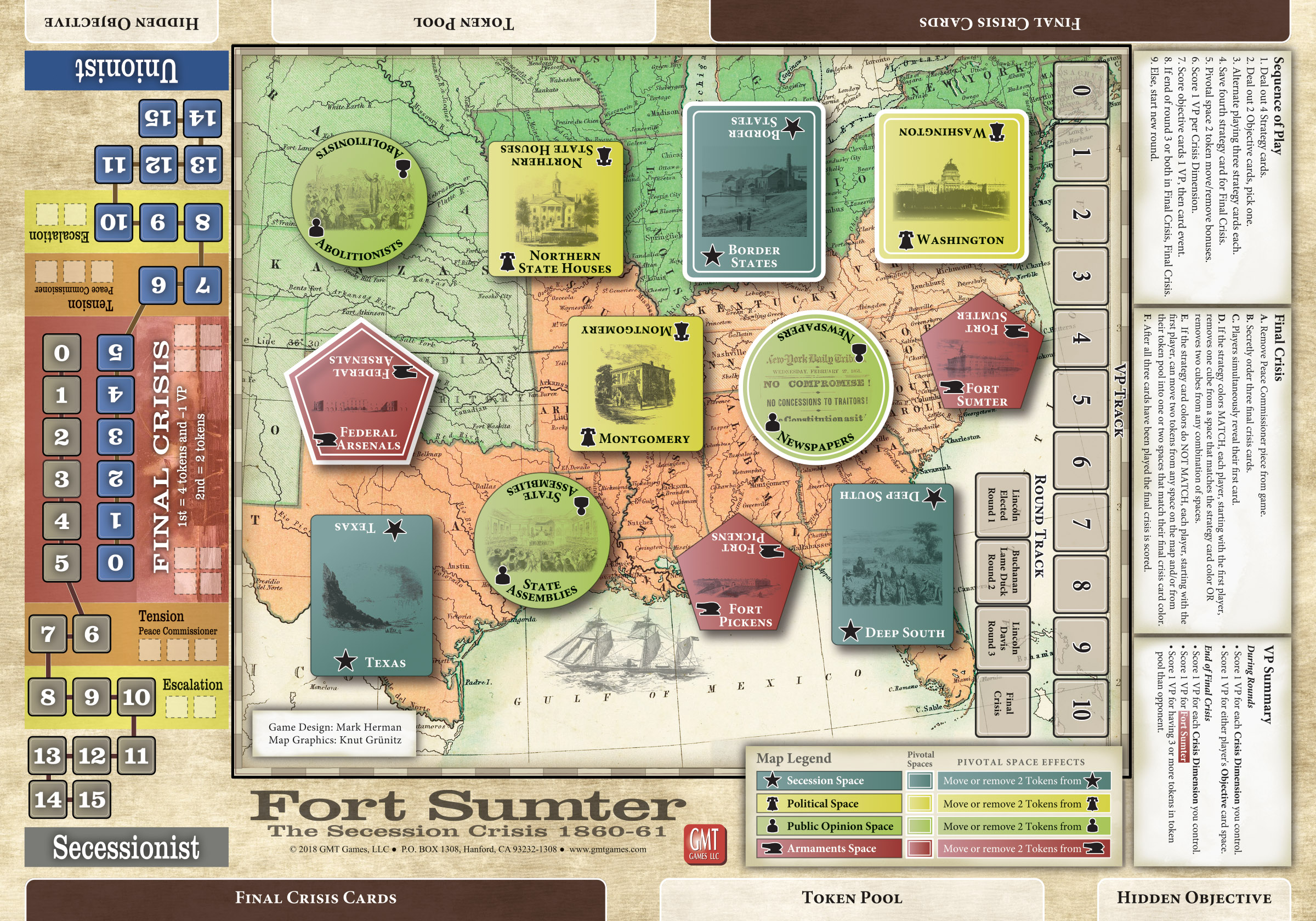 Fort Sumter The Secession Crisis 1860 1861 Brand New /& Sealed