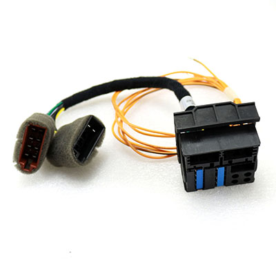 Purchase Wire Harness Stereo Connector Plug Play Cable for ... on vw turn signal wiring harness, vw radio removal tool, vw bus wiring harness,
