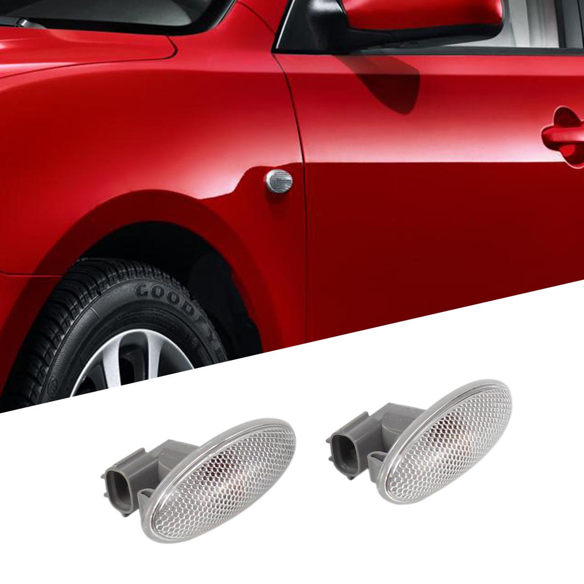 Side Turn Signal Lamp Pair Fender Light For Toyota Corolla