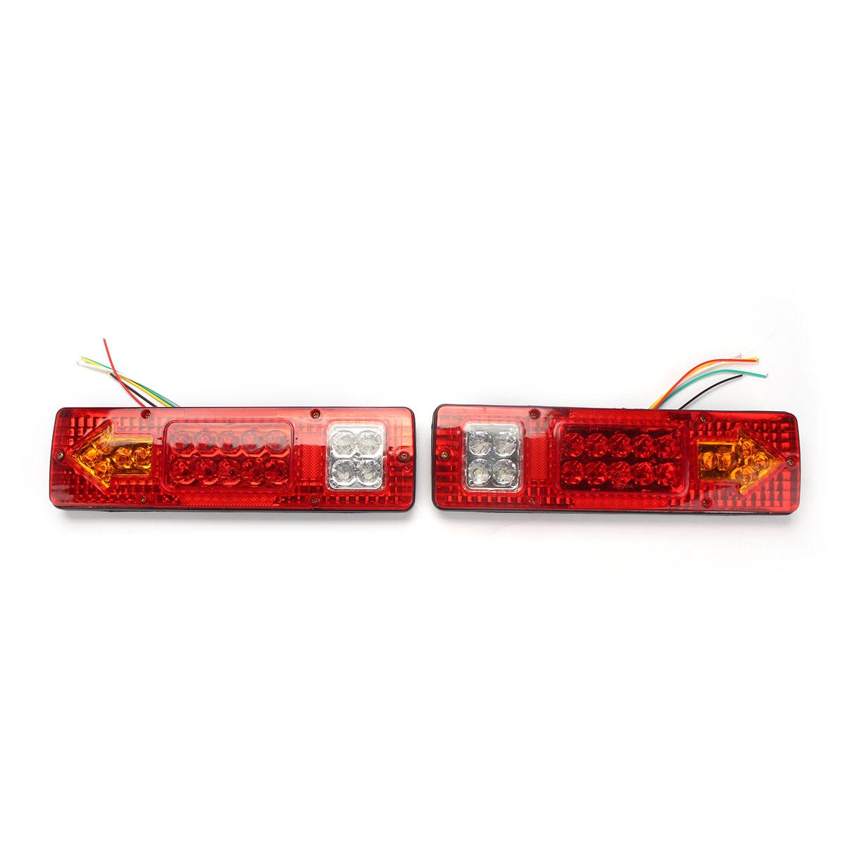 Brake Pair 19 Led Turn Signal Running Tail Light For