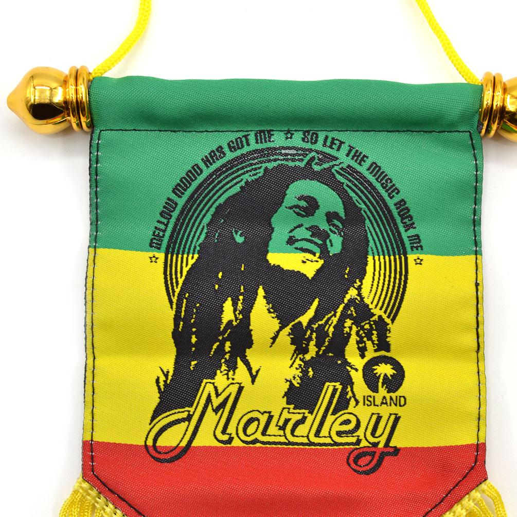 BOB MARLEY NEW FLAG RASTA MUSICIAN BANNER Choose Size 3x2 5x3 Feet