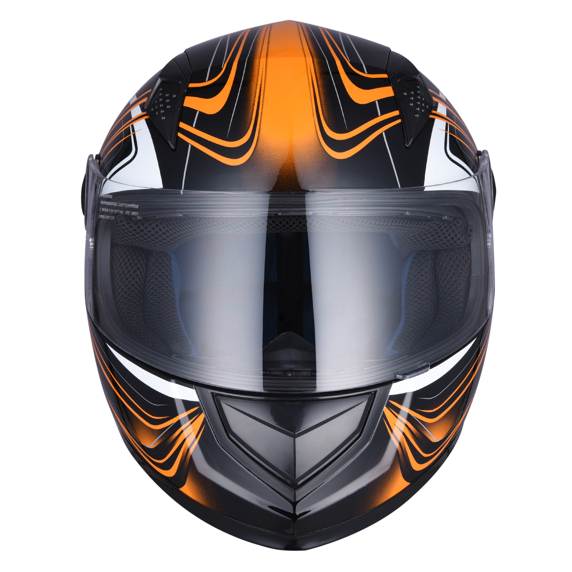 miniature 73 - AHR K12 Full Face Motorcycle Helmet DOT Air Vents Clear Visor Racing S M L XL