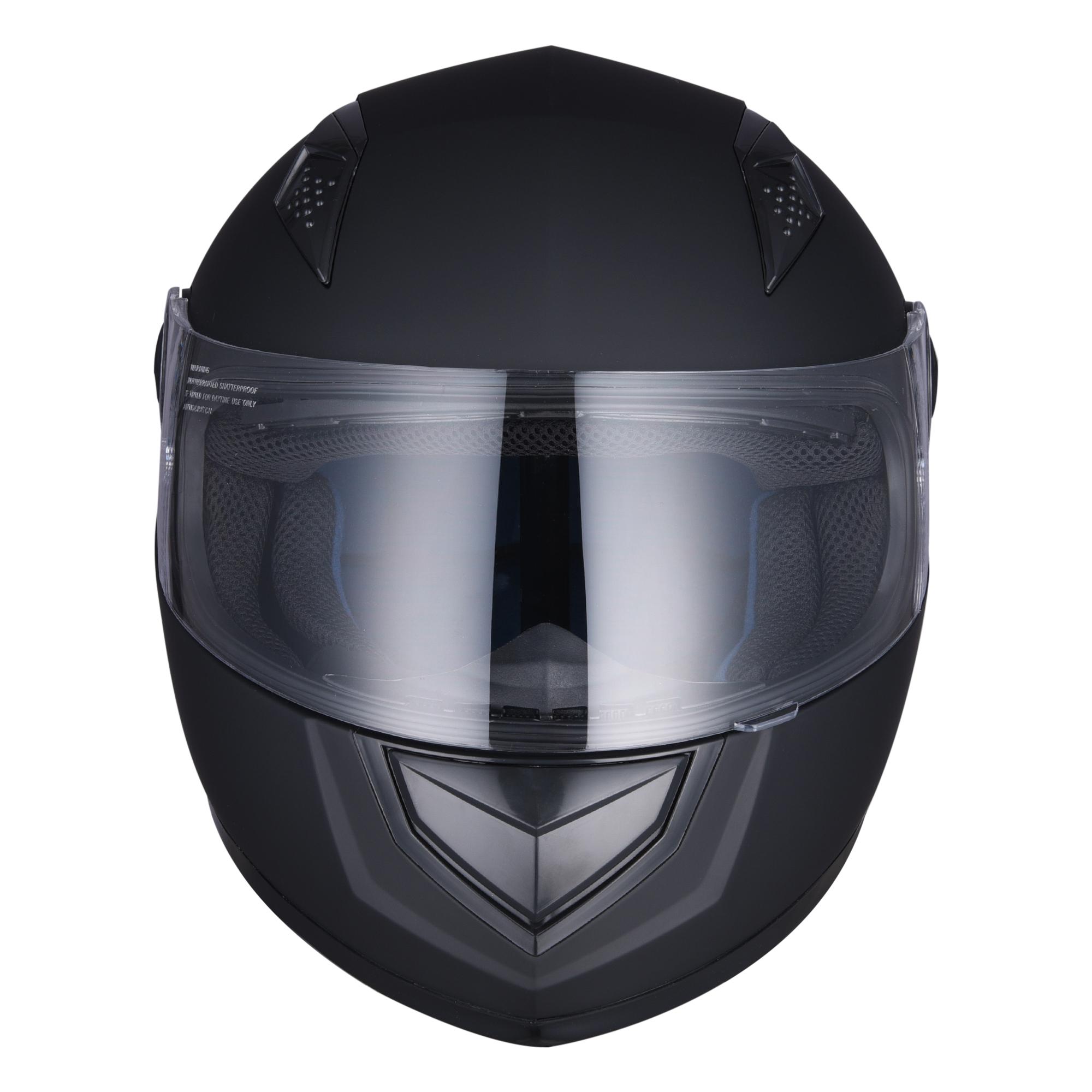 miniature 61 - AHR K12 Full Face Motorcycle Helmet DOT Air Vents Clear Visor Racing S M L XL