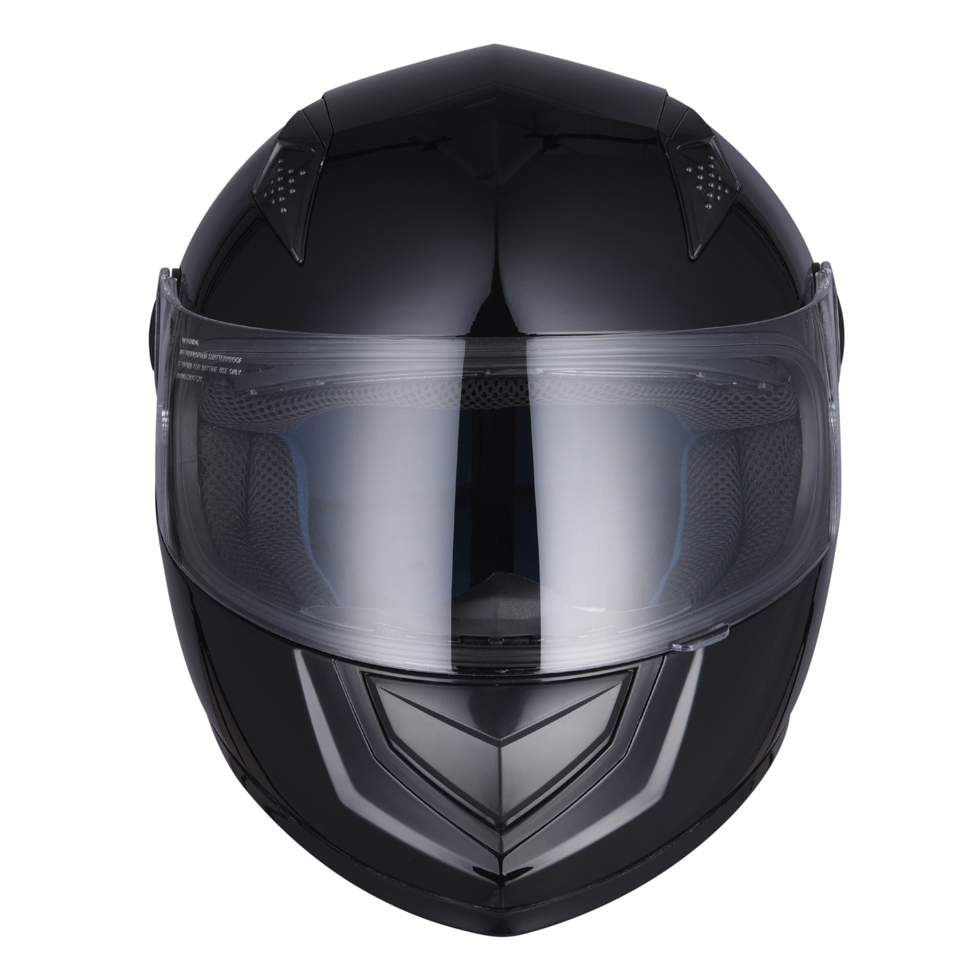miniature 14 - AHR K12 Full Face Motorcycle Helmet DOT Air Vents Clear Visor Racing S M L XL