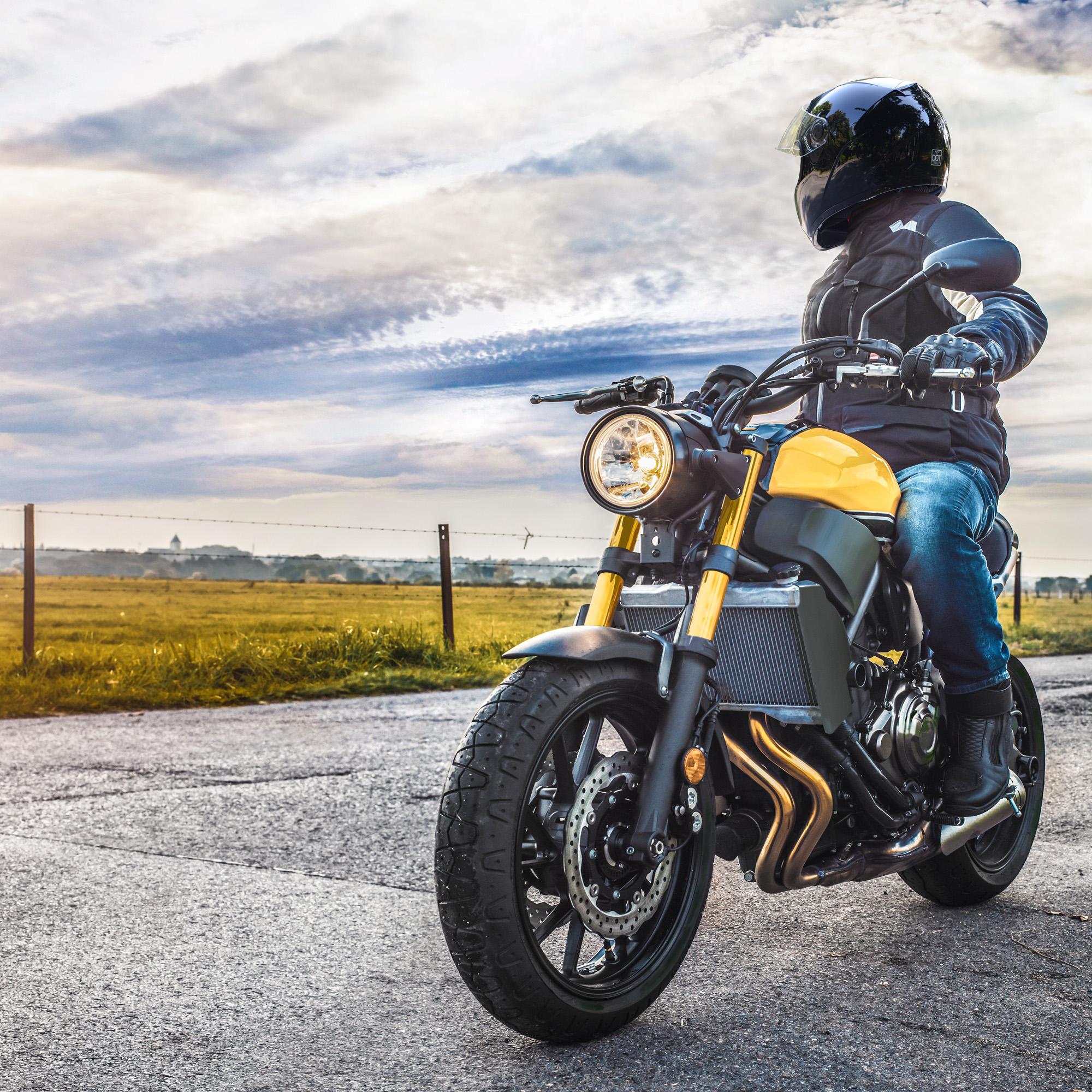 miniature 95 - AHR K12 Full Face Motorcycle Helmet DOT Air Vents Clear Visor Racing S M L XL