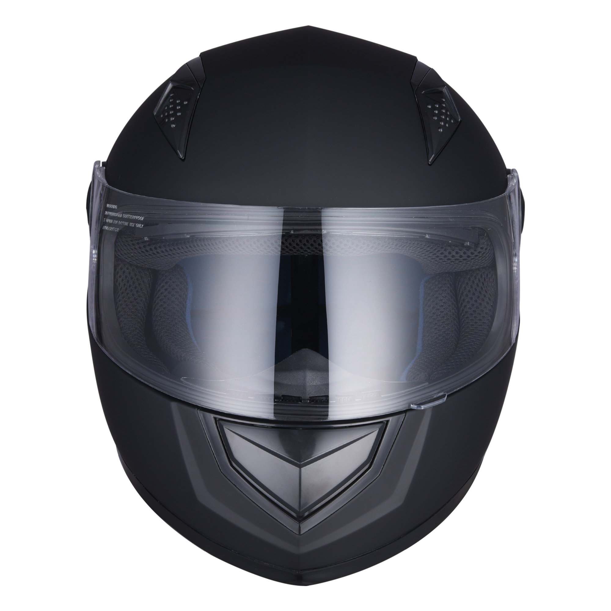 miniature 97 - AHR K12 Full Face Motorcycle Helmet DOT Air Vents Clear Visor Racing S M L XL