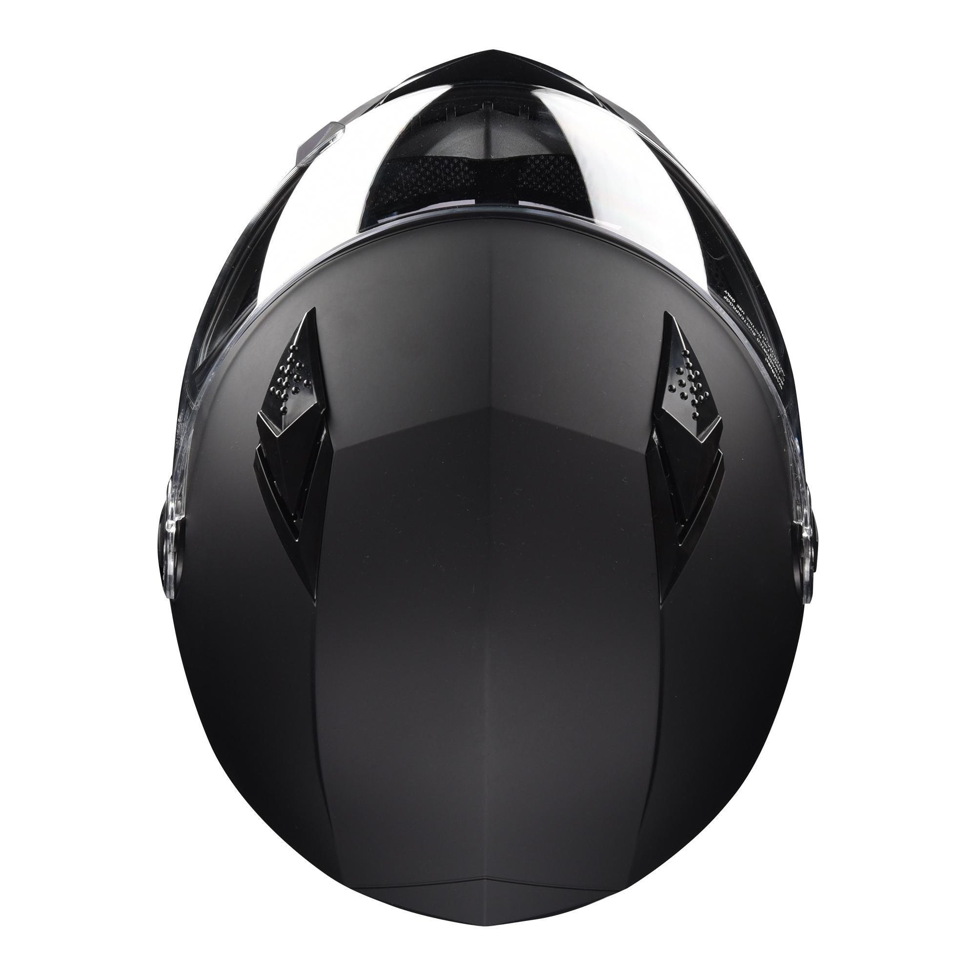 miniature 102 - AHR K12 Full Face Motorcycle Helmet DOT Air Vents Clear Visor Racing S M L XL