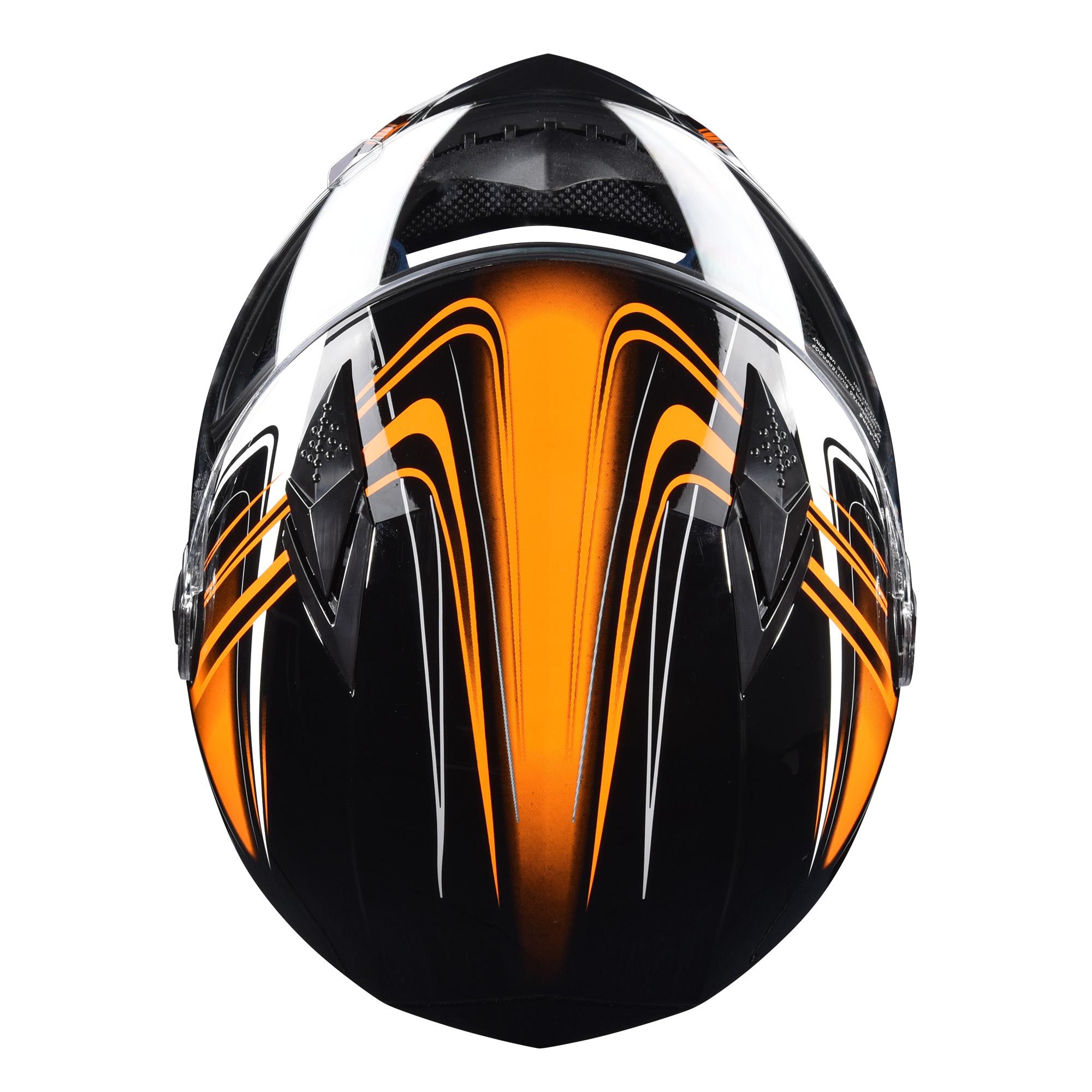 miniature 148 - AHR K12 Full Face Motorcycle Helmet DOT Air Vents Clear Visor Racing S M L XL