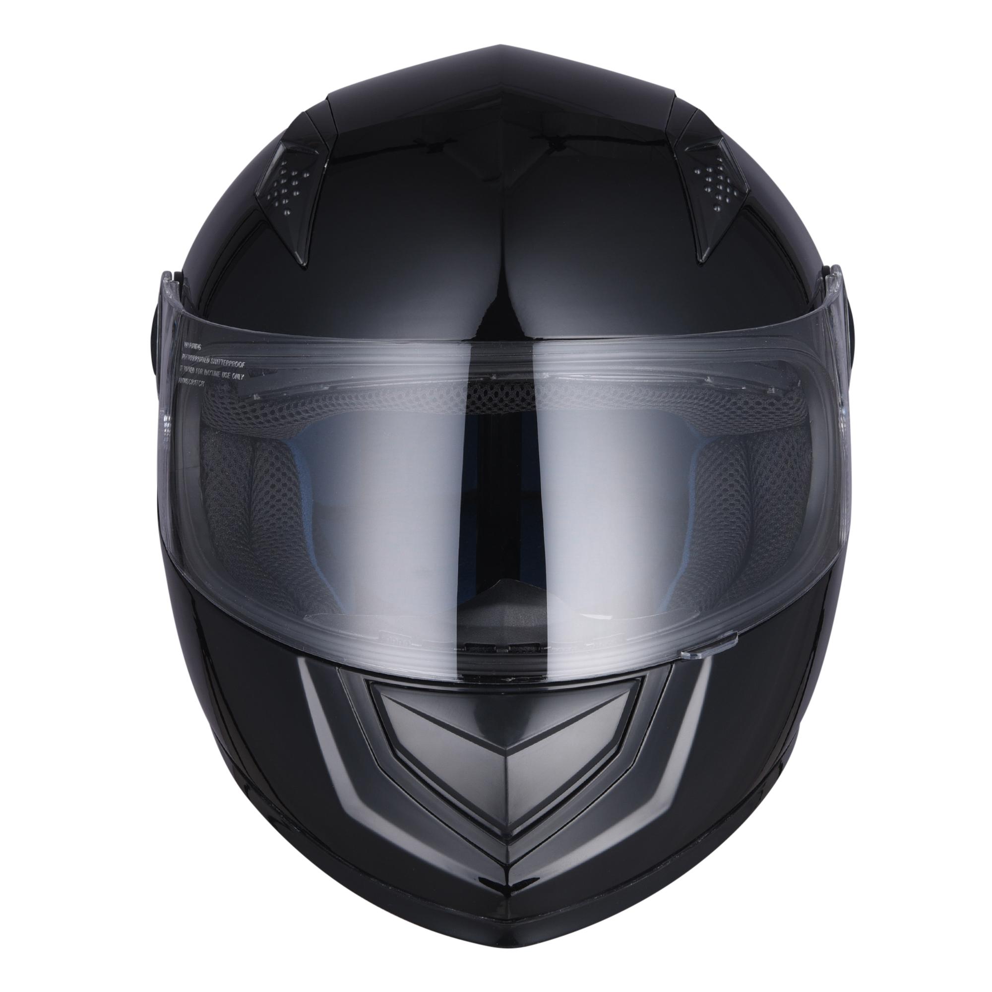 miniature 121 - AHR K12 Full Face Motorcycle Helmet DOT Air Vents Clear Visor Racing S M L XL