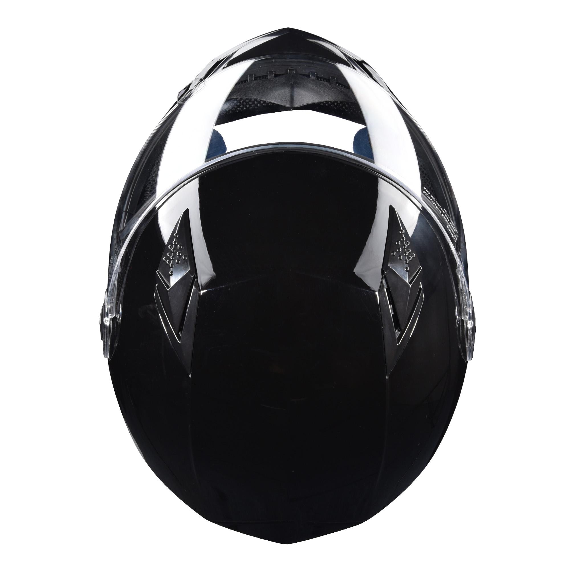 miniature 126 - AHR K12 Full Face Motorcycle Helmet DOT Air Vents Clear Visor Racing S M L XL