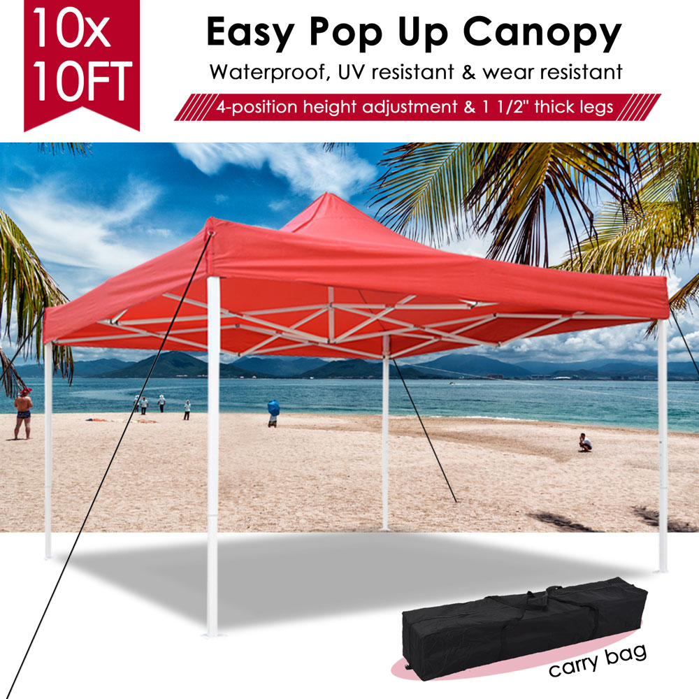 10x10-039-EZ-Pop-Up-Canopy-Tent-Patio-Outdoor-Instant-Gazebo-Folding-Shade-Party thumbnail 40