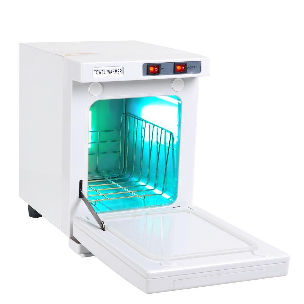 5L UV Sterilizer Towel Warmer Hot Cabinet Salon Spa Nail