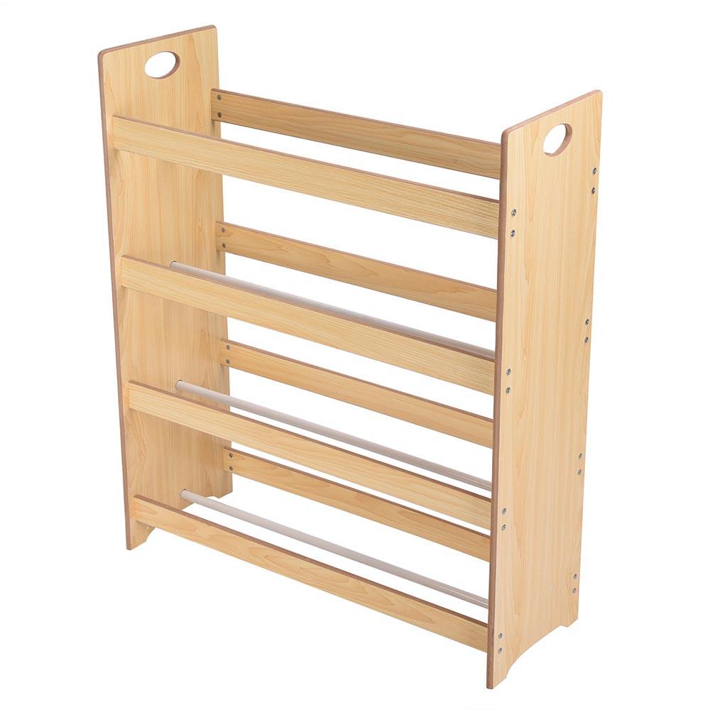 Childrens Kids 3 Tier Toy Bedroom Storage Shelf Unit 8: Toys Storage Children Kids Shelf Rack Plastic Boxes Tubs