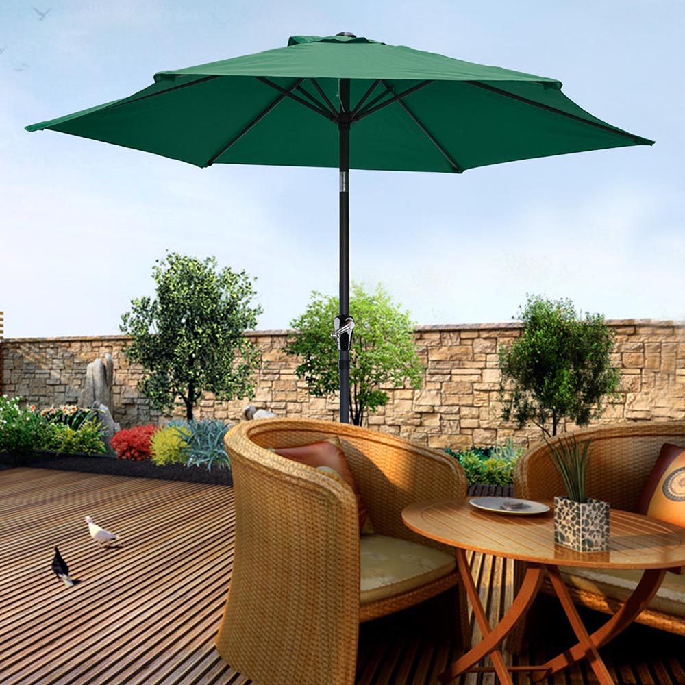 2-5m-2-7m-3m-Round-Square-Garden-Parasol-Shade-Outdoor-Patio-Umbrella-Crank-Tilt thumbnail 61