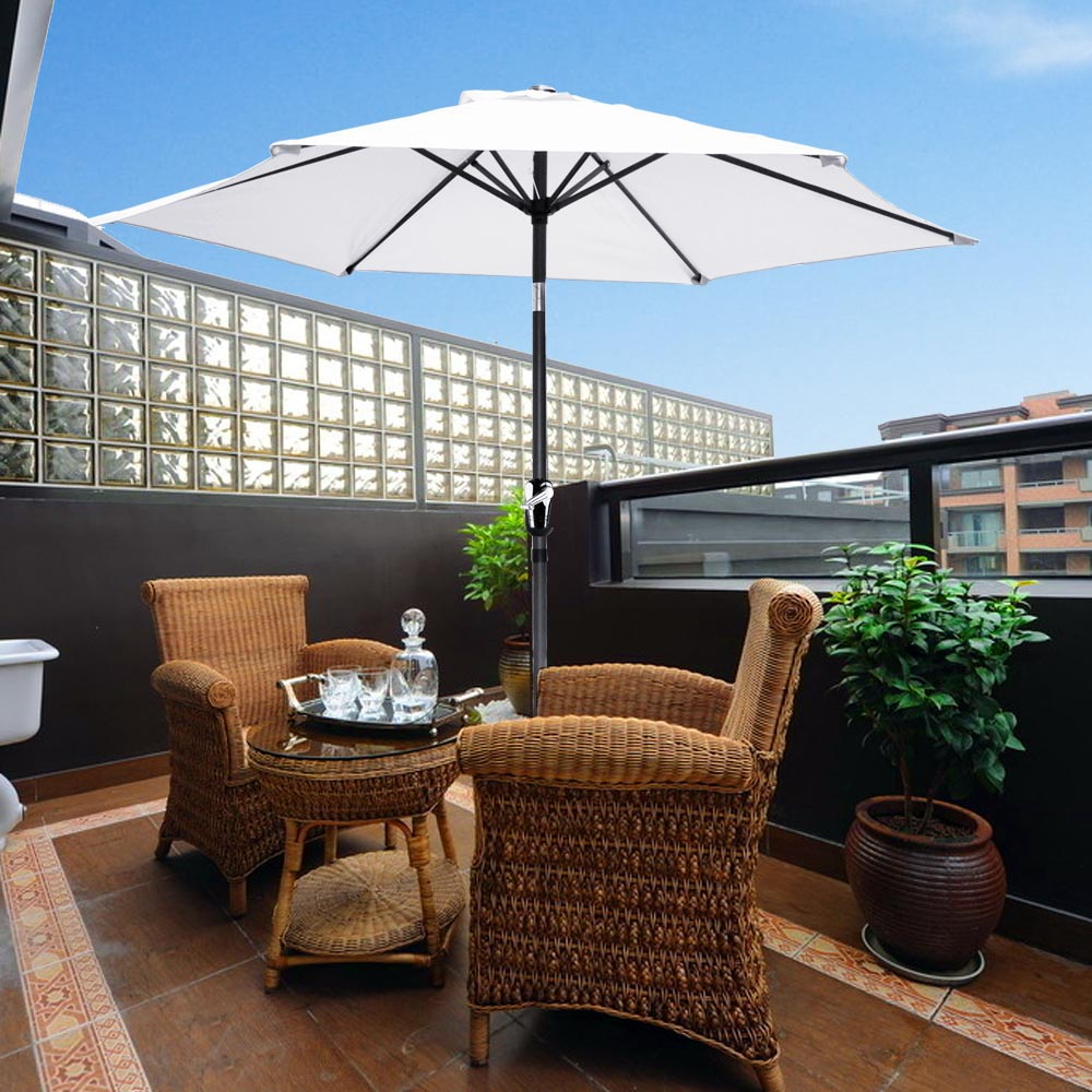 2-5m-2-7m-3m-Round-Square-Garden-Parasol-Shade-Outdoor-Patio-Umbrella-Crank-Tilt thumbnail 74