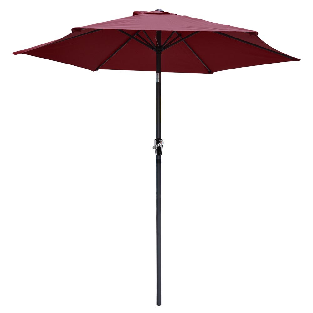 2-5m-2-7m-3m-Round-Square-Garden-Parasol-Shade-Outdoor-Patio-Umbrella-Crank-Tilt thumbnail 77