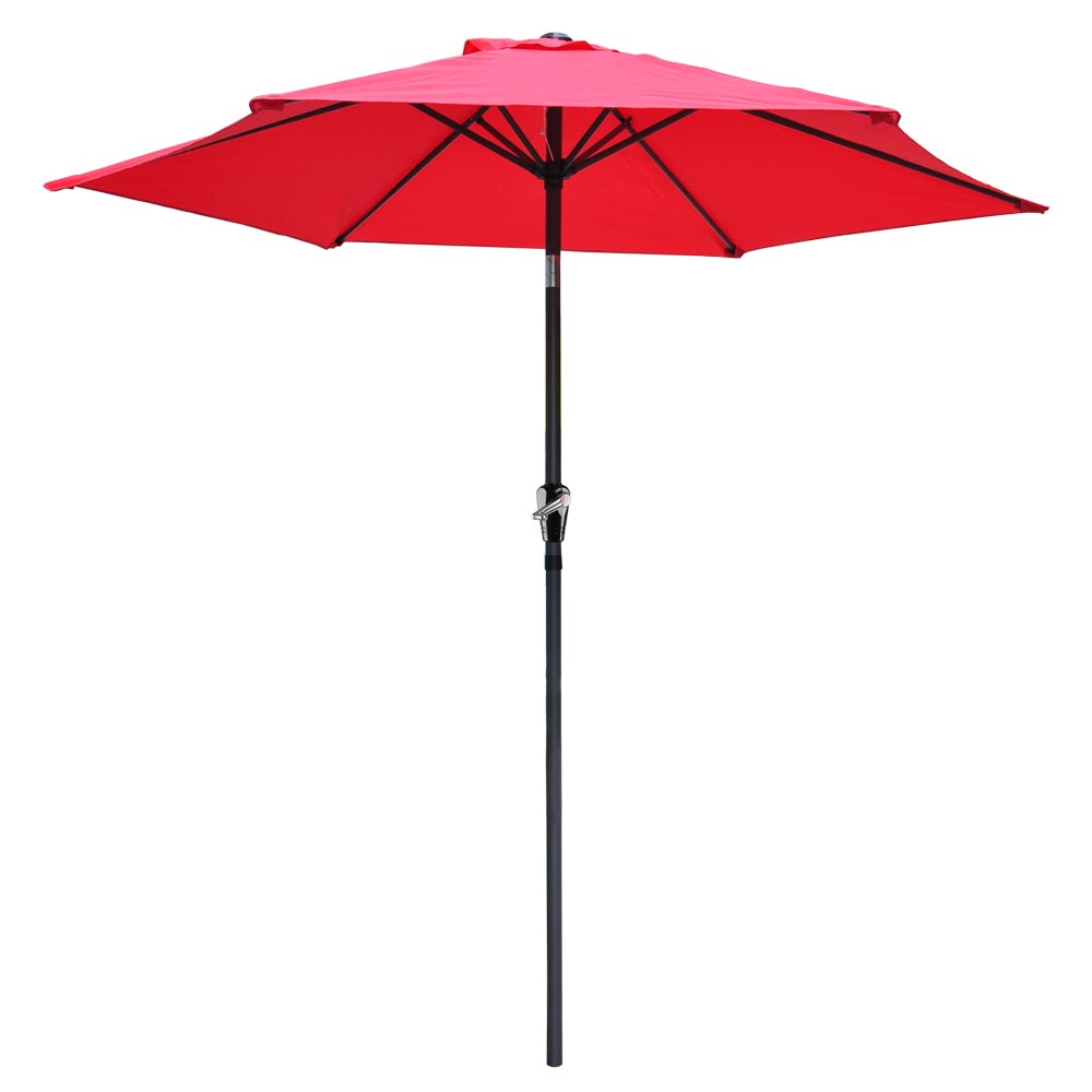 2-5m-2-7m-3m-Round-Square-Garden-Parasol-Shade-Outdoor-Patio-Umbrella-Crank-Tilt thumbnail 63