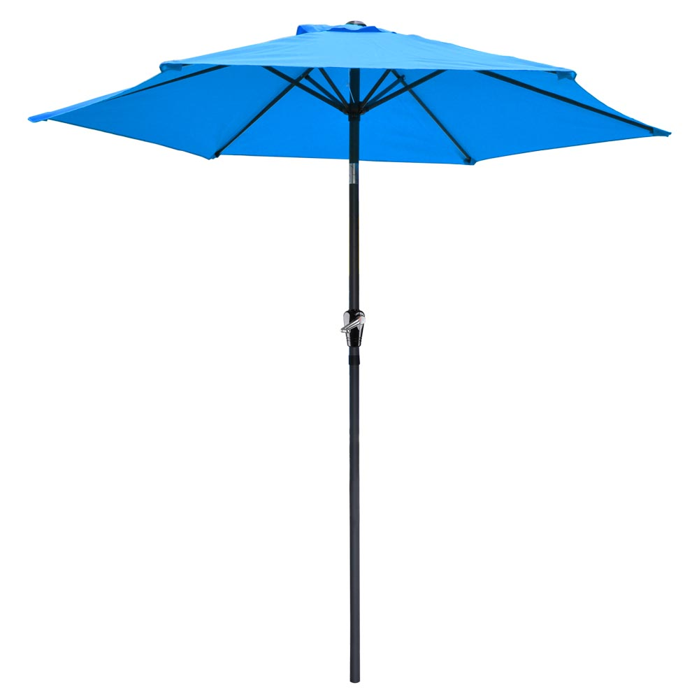 2-5m-2-7m-3m-Round-Square-Garden-Parasol-Shade-Outdoor-Patio-Umbrella-Crank-Tilt thumbnail 53