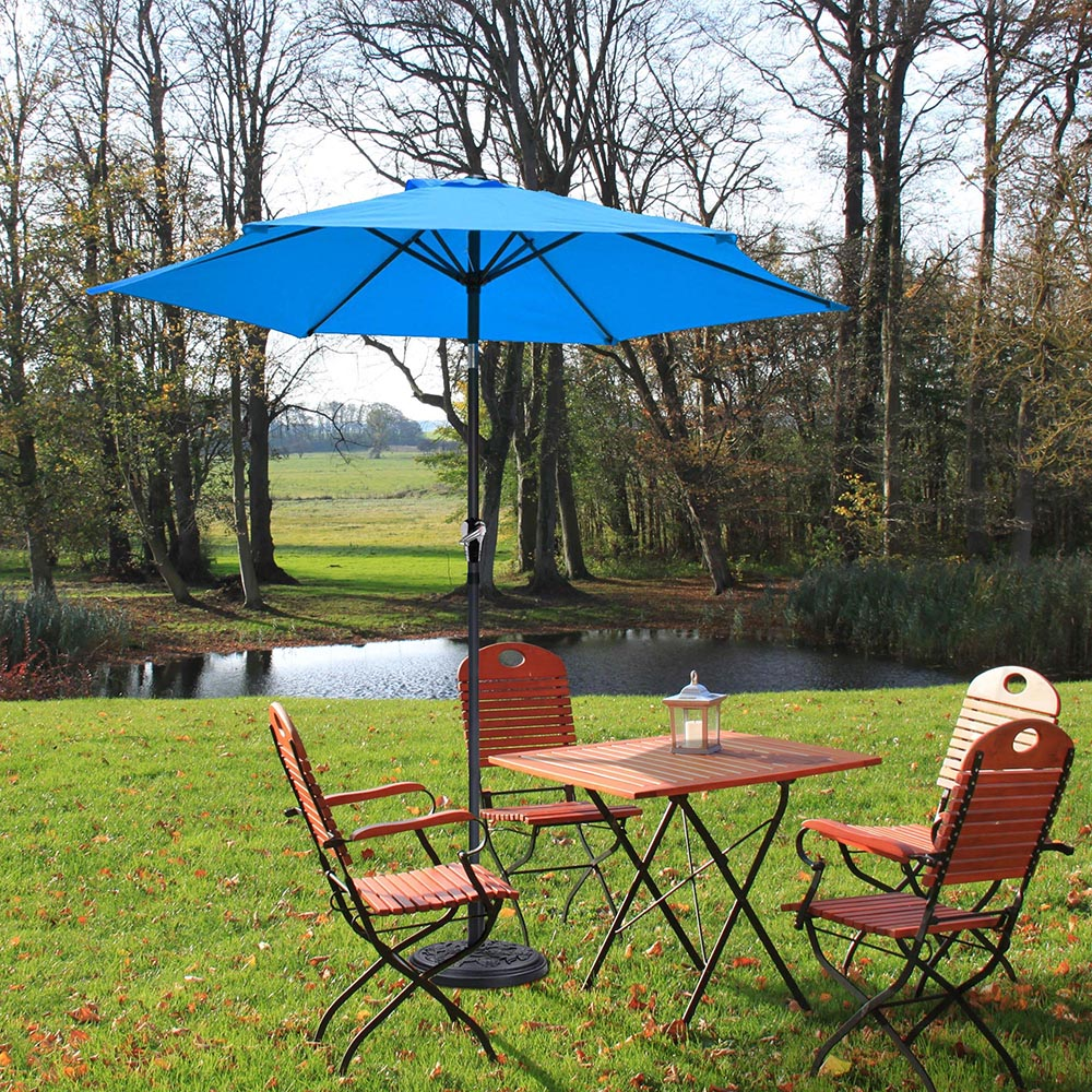 2-5m-2-7m-3m-Round-Square-Garden-Parasol-Shade-Outdoor-Patio-Umbrella-Crank-Tilt thumbnail 56