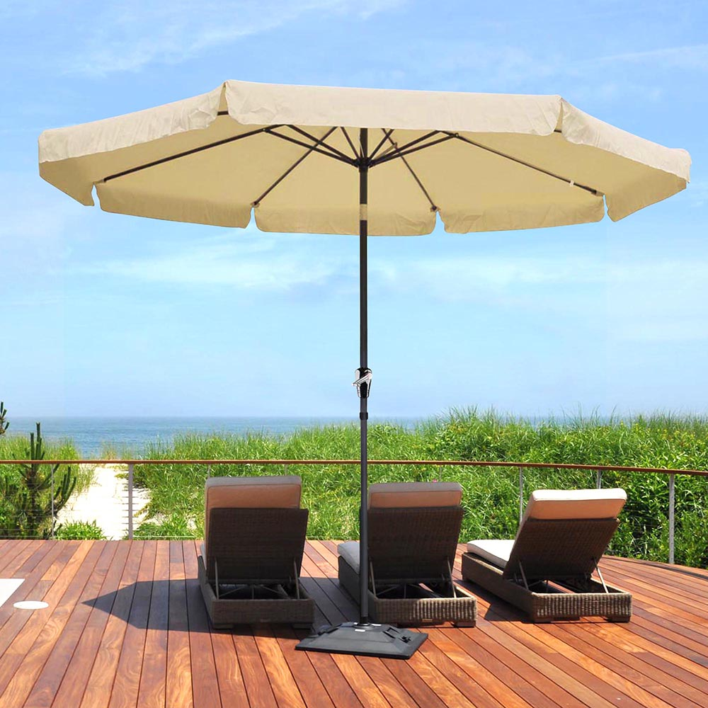 2-5m-2-7m-3m-Round-Square-Garden-Parasol-Shade-Outdoor-Patio-Umbrella-Crank-Tilt thumbnail 215