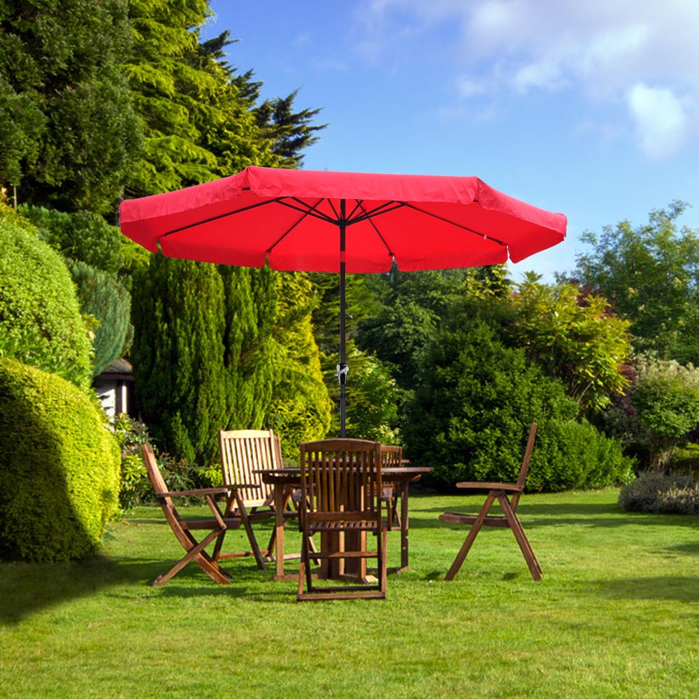 2-5m-2-7m-3m-Round-Square-Garden-Parasol-Shade-Outdoor-Patio-Umbrella-Crank-Tilt thumbnail 204