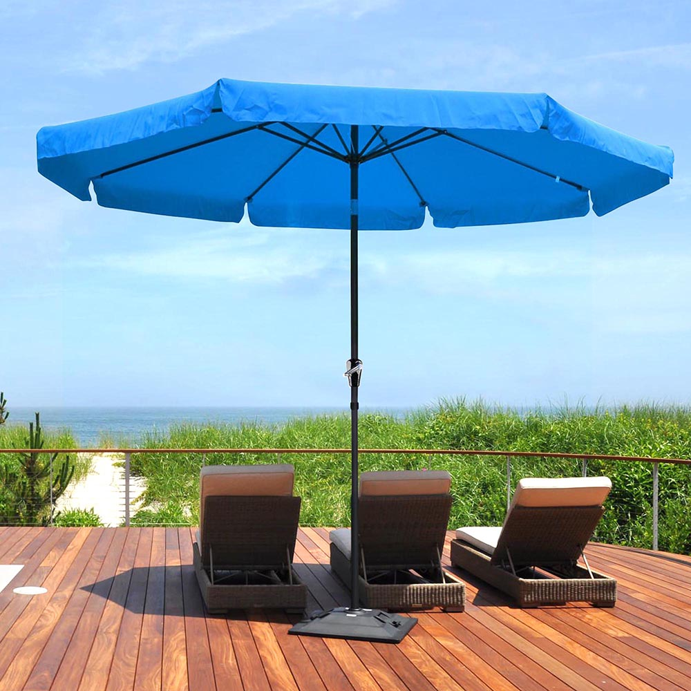 2-5m-2-7m-3m-Round-Square-Garden-Parasol-Shade-Outdoor-Patio-Umbrella-Crank-Tilt thumbnail 190