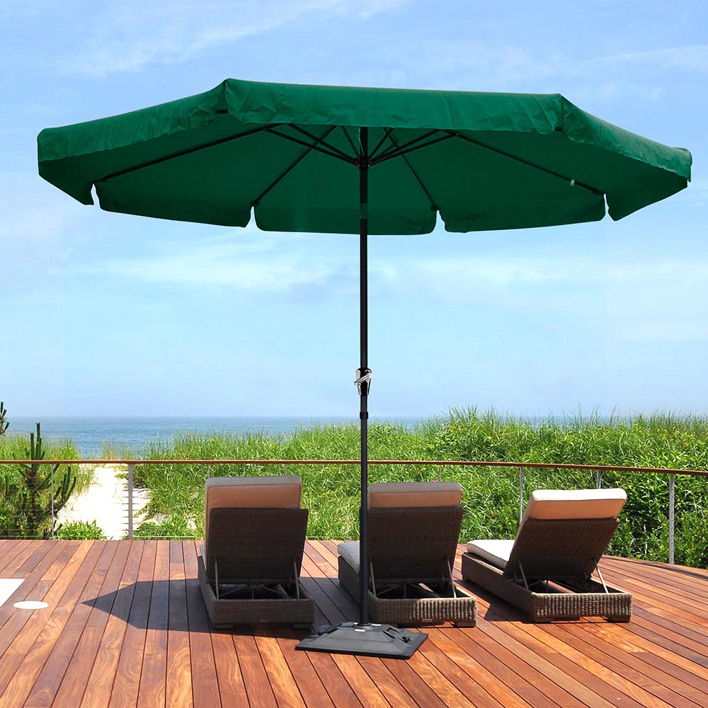 2-5m-2-7m-3m-Round-Square-Garden-Parasol-Shade-Outdoor-Patio-Umbrella-Crank-Tilt thumbnail 197