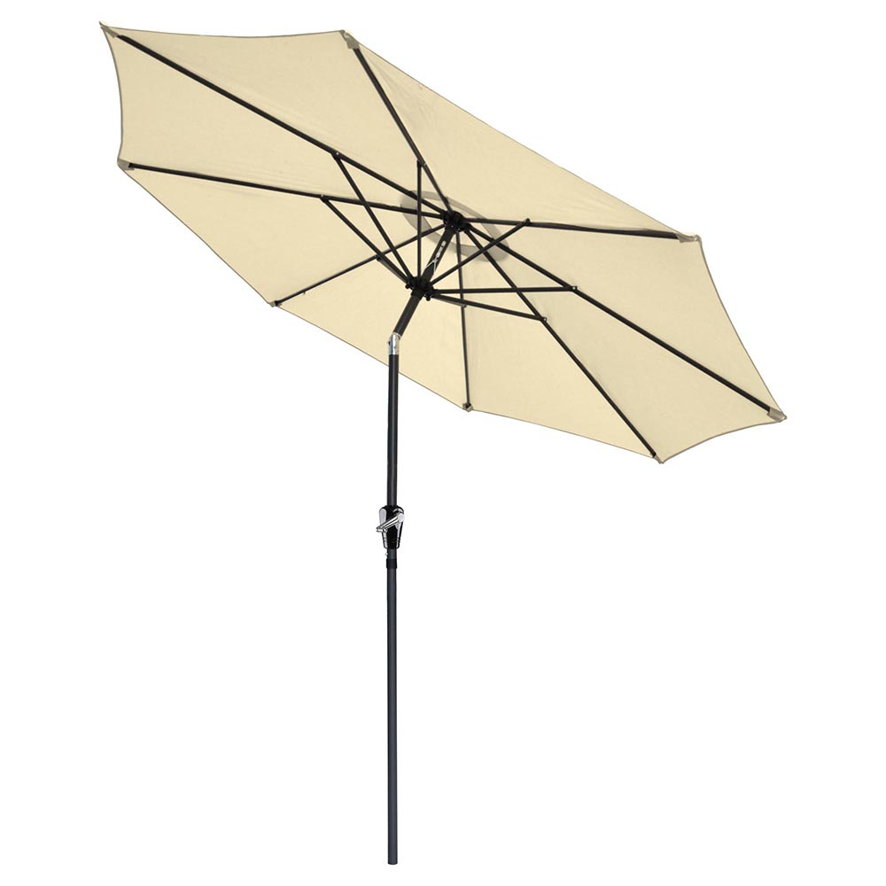 2-5m-2-7m-3m-Round-Square-Garden-Parasol-Shade-Outdoor-Patio-Umbrella-Crank-Tilt thumbnail 125