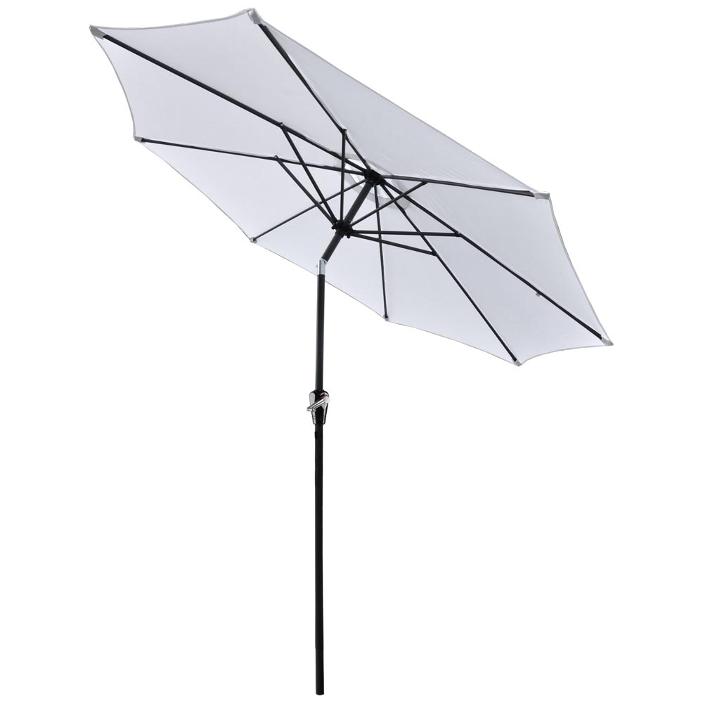 2-5m-2-7m-3m-Round-Square-Garden-Parasol-Shade-Outdoor-Patio-Umbrella-Crank-Tilt thumbnail 130