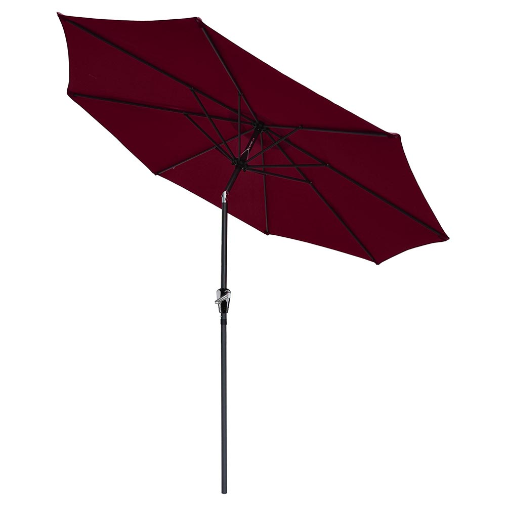 2-5m-2-7m-3m-Round-Square-Garden-Parasol-Shade-Outdoor-Patio-Umbrella-Crank-Tilt thumbnail 135