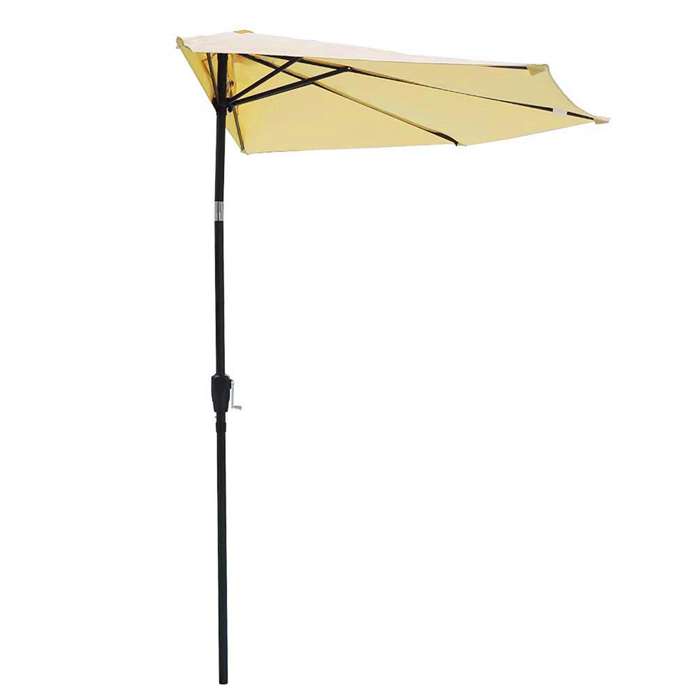 2-5m-2-7m-3m-Round-Square-Garden-Parasol-Shade-Outdoor-Patio-Umbrella-Crank-Tilt thumbnail 82