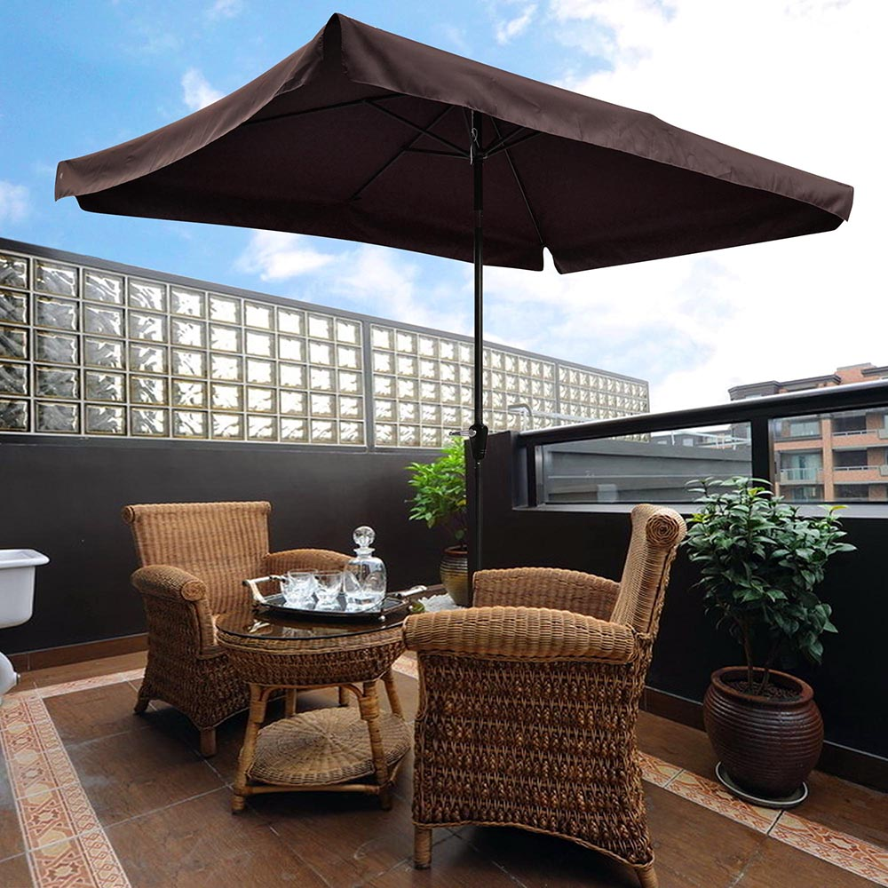 2-5m-2-7m-3m-Round-Square-Garden-Parasol-Shade-Outdoor-Patio-Umbrella-Crank-Tilt thumbnail 151