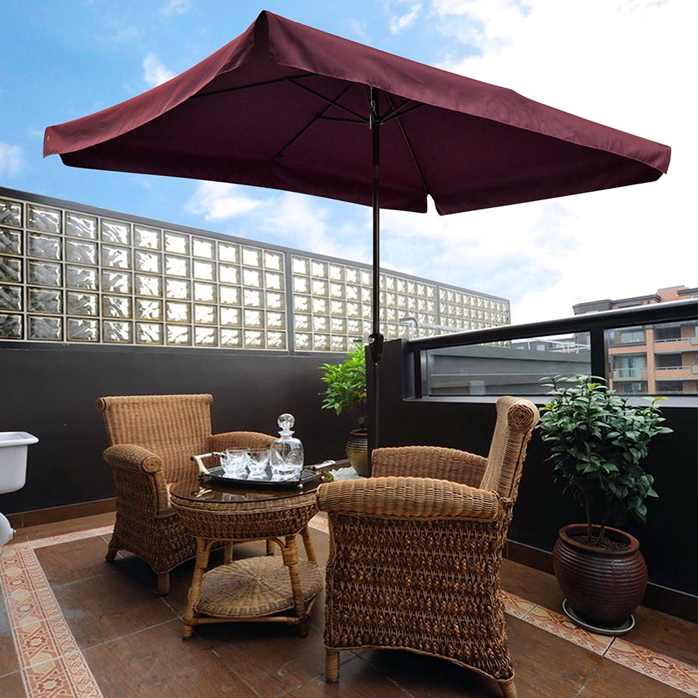 2-5m-2-7m-3m-Round-Square-Garden-Parasol-Shade-Outdoor-Patio-Umbrella-Crank-Tilt thumbnail 172